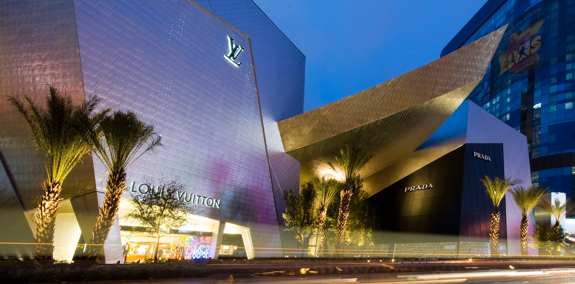 Louis Vuitton Las Vegas Luxury Retail Store Construction Management