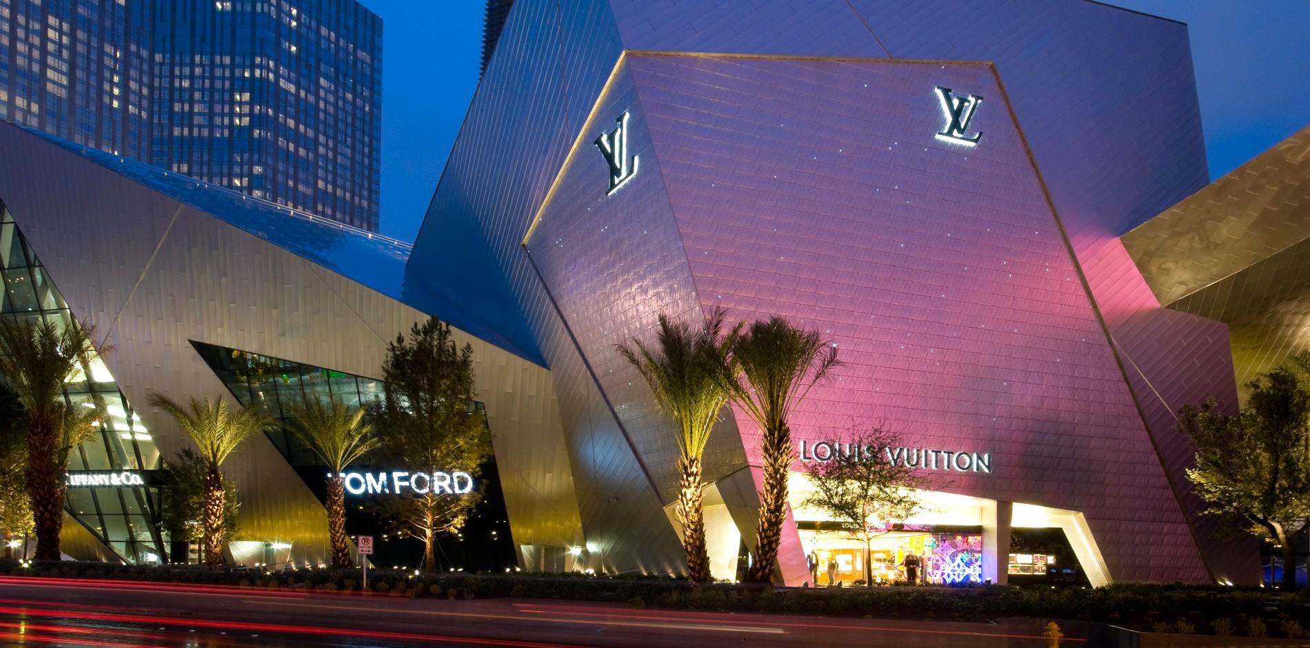 louis vuitton las vegas luxury retail store construction management