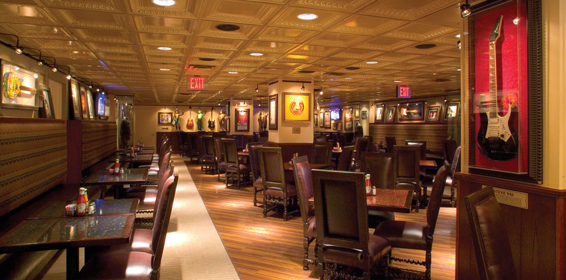 Hard Rock Cafe Construction - New York City Fit-out, Renovation