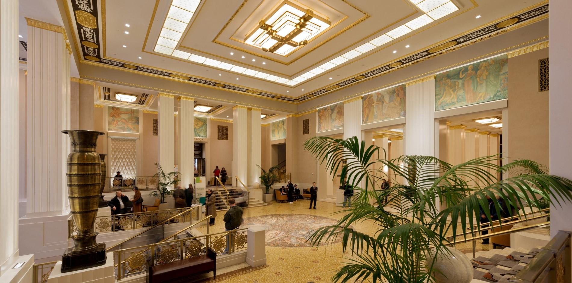 waldorf astoria hotel renovation restoration. Black Bedroom Furniture Sets. Home Design Ideas