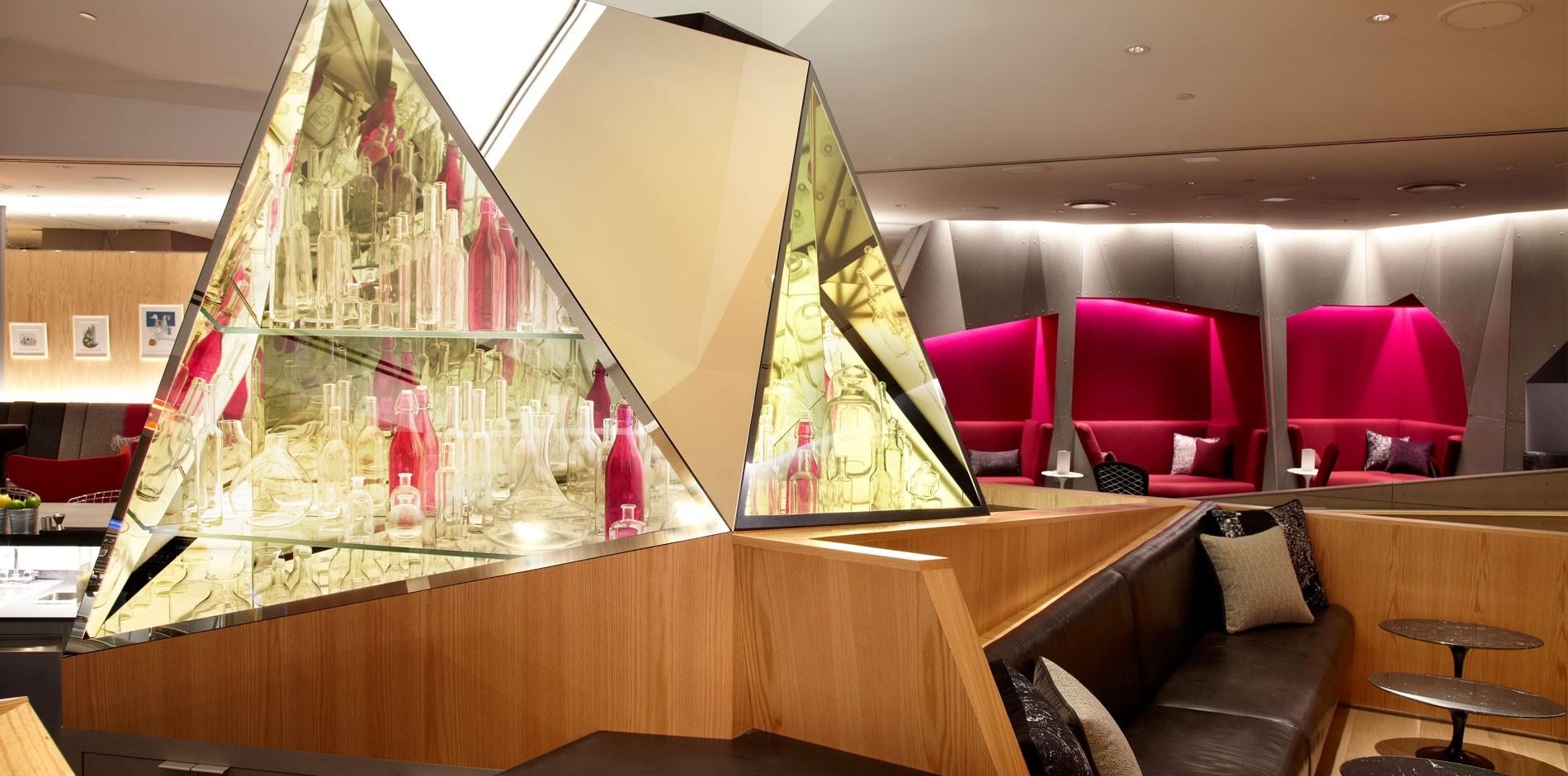 Virgin Atlantic Clubhouse Renovation Amp Fit Out Newark NJ