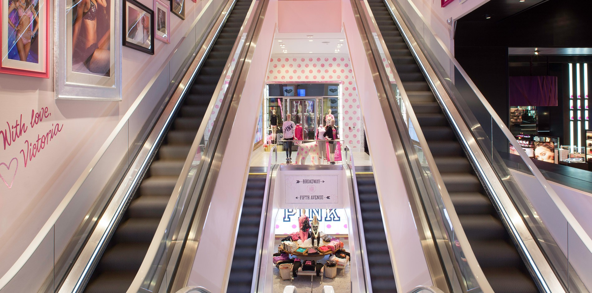 Victoria S Secret New York Flagship Renovation Amp Fit Out Project