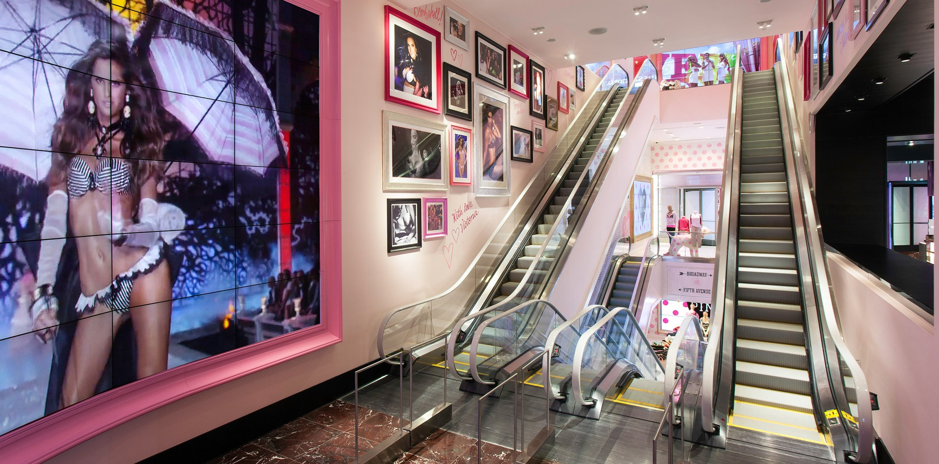 Victoria S Secret New York Flagship Renovation Amp Fit Out