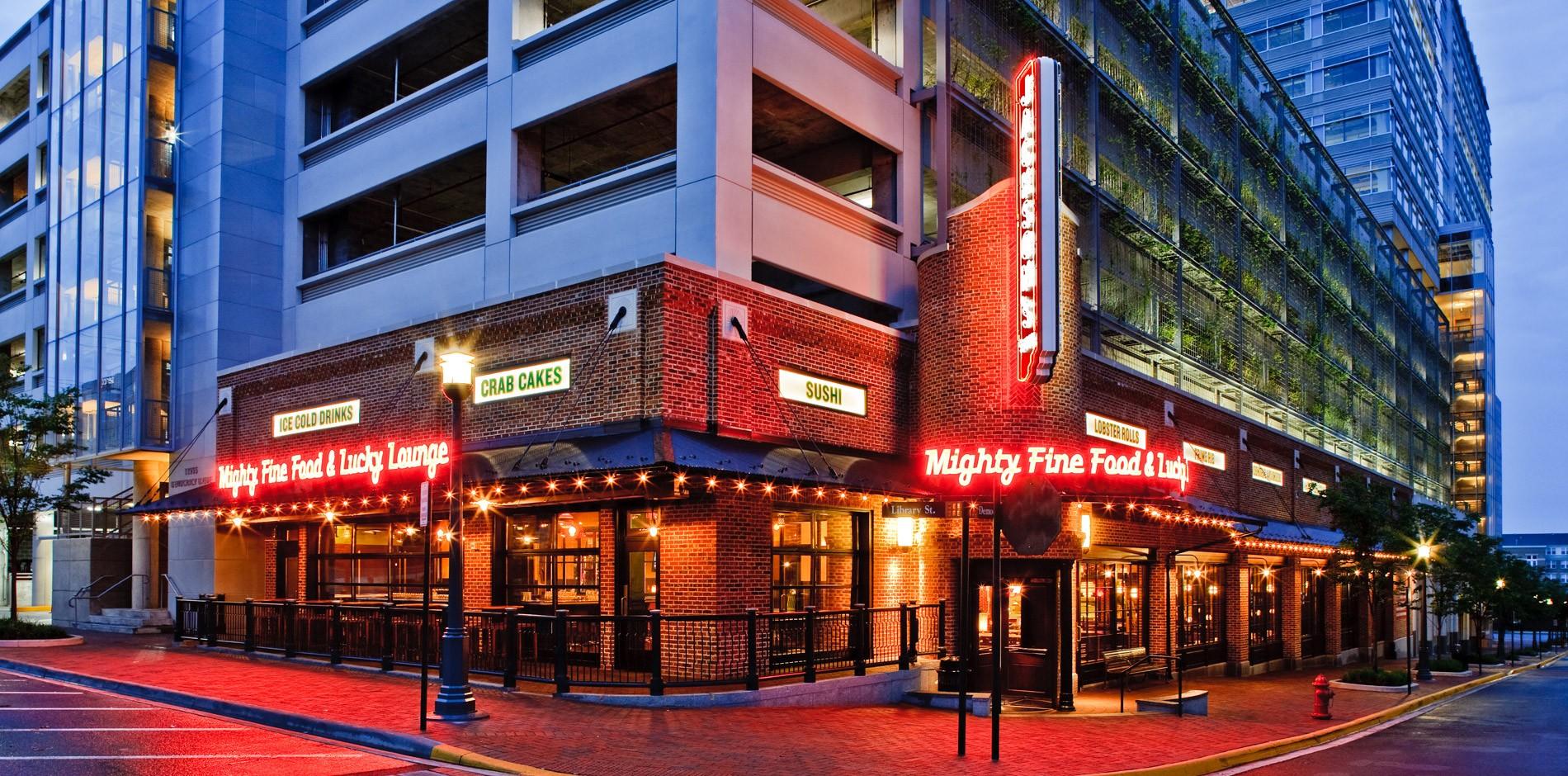 Jackson S Mighty Fine Food Lucky Lounge Reston Va