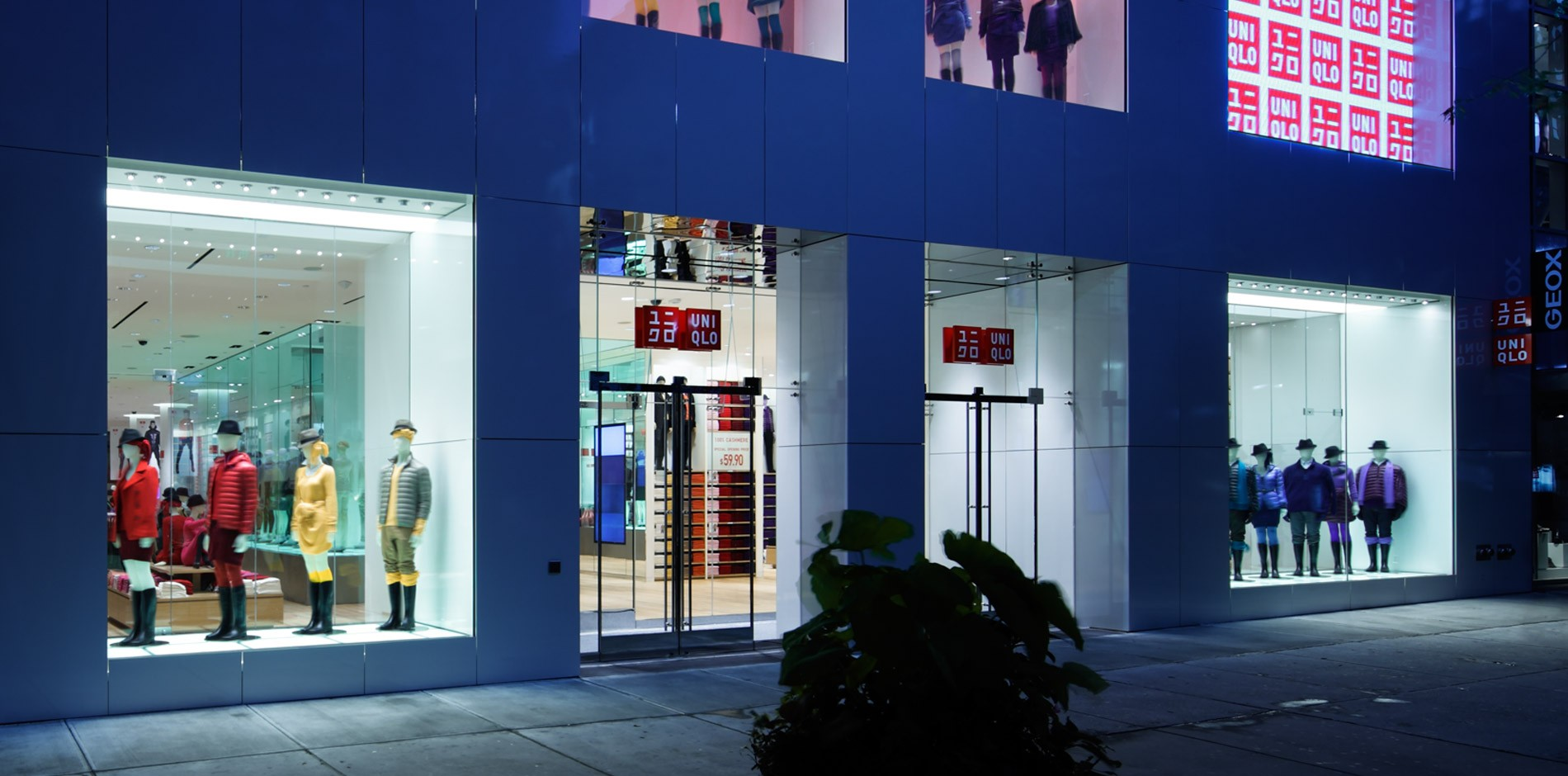 Uniqlo specialty retail fit out renovation project in for 1633 broadway 3rd floor new york ny 10019
