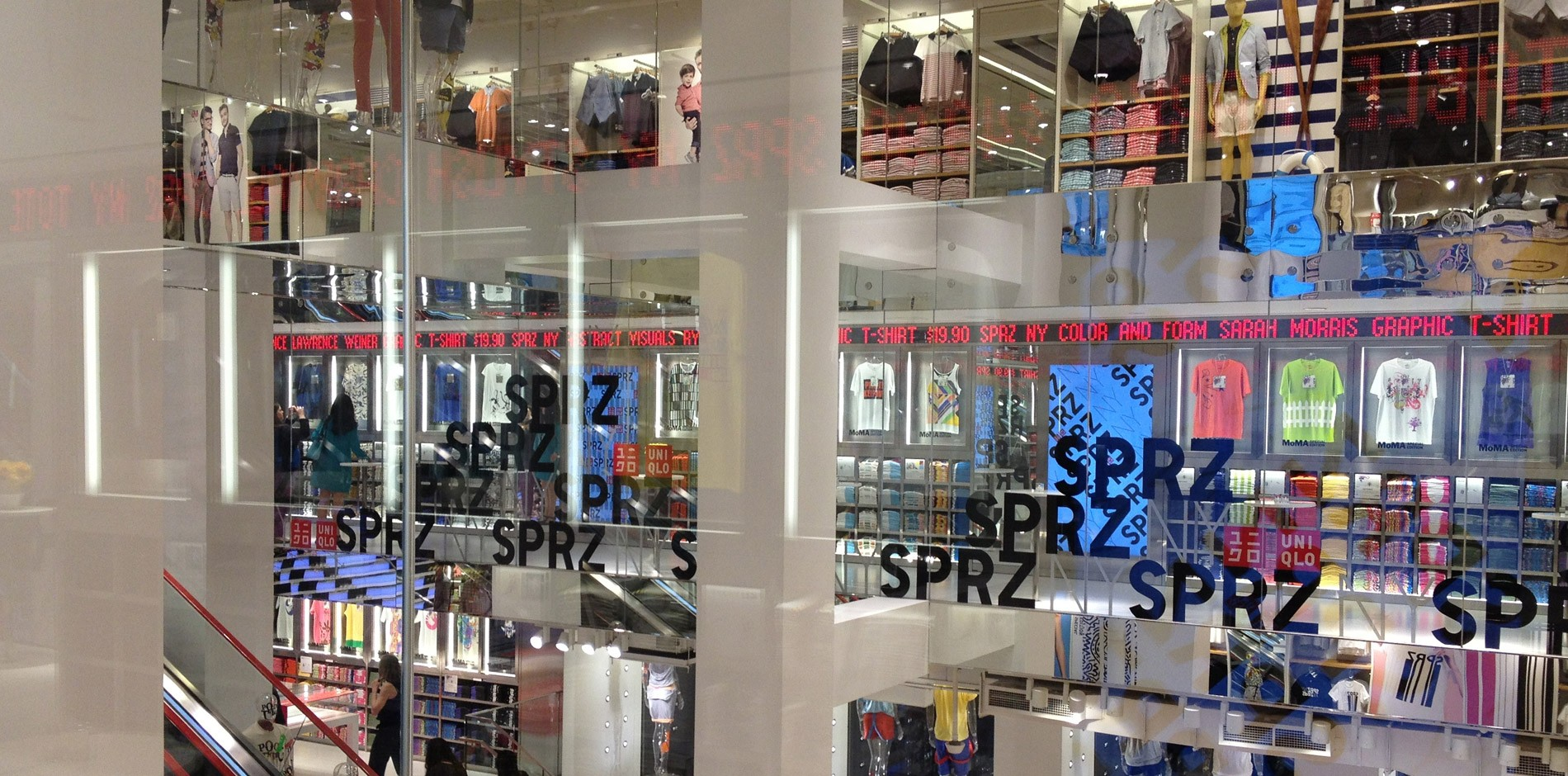 Uniqlo Flagship Retail Fit Out Amp Renovation Project 5th