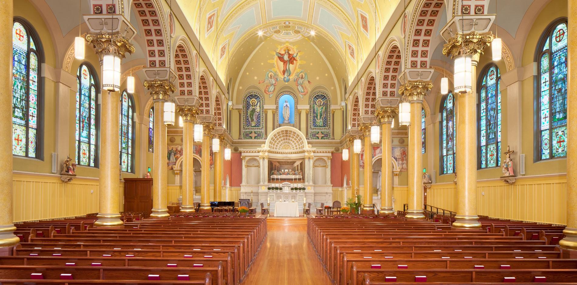 Saint Cecilia Parish Renovation Amp Preservation In Boston Ma