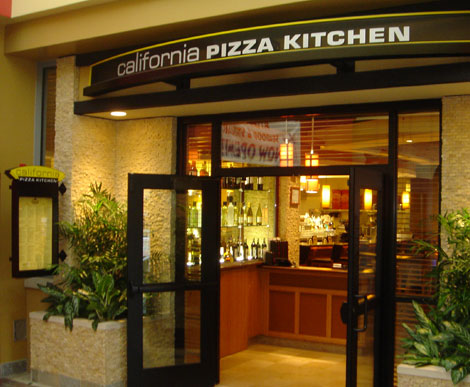 California Pizza Kitchen Menu Foxwoods