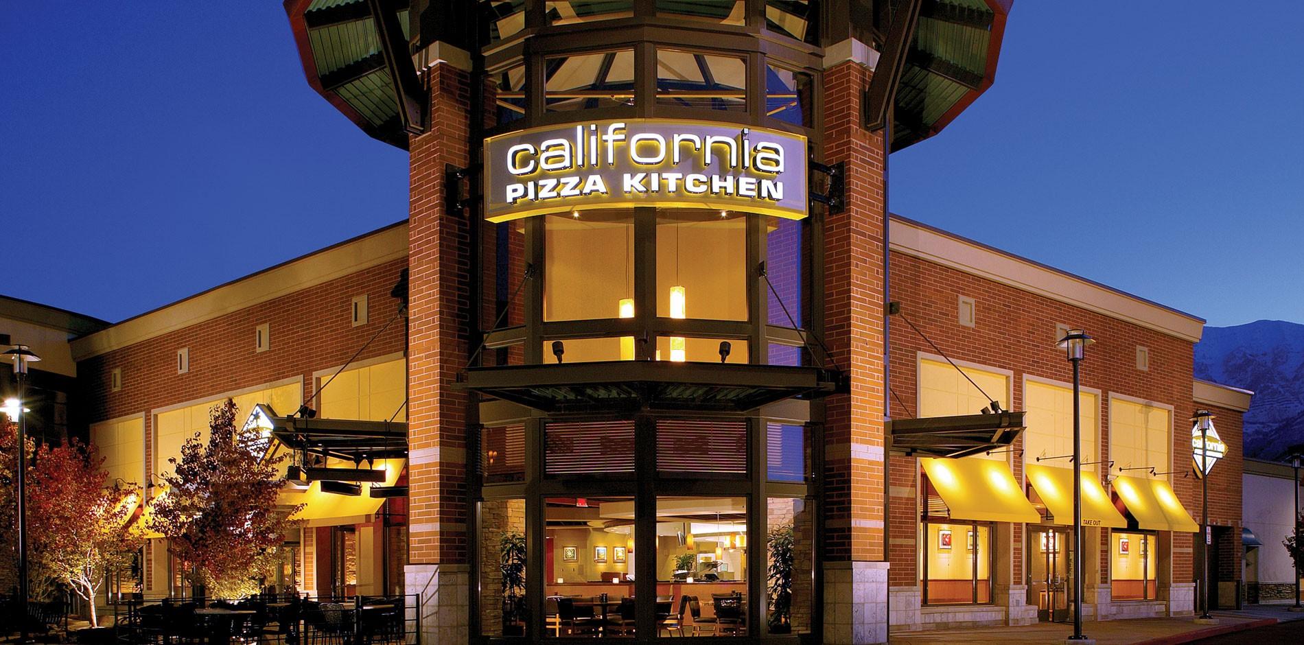 California Pizza Kitchen At University Mall Orem Ut
