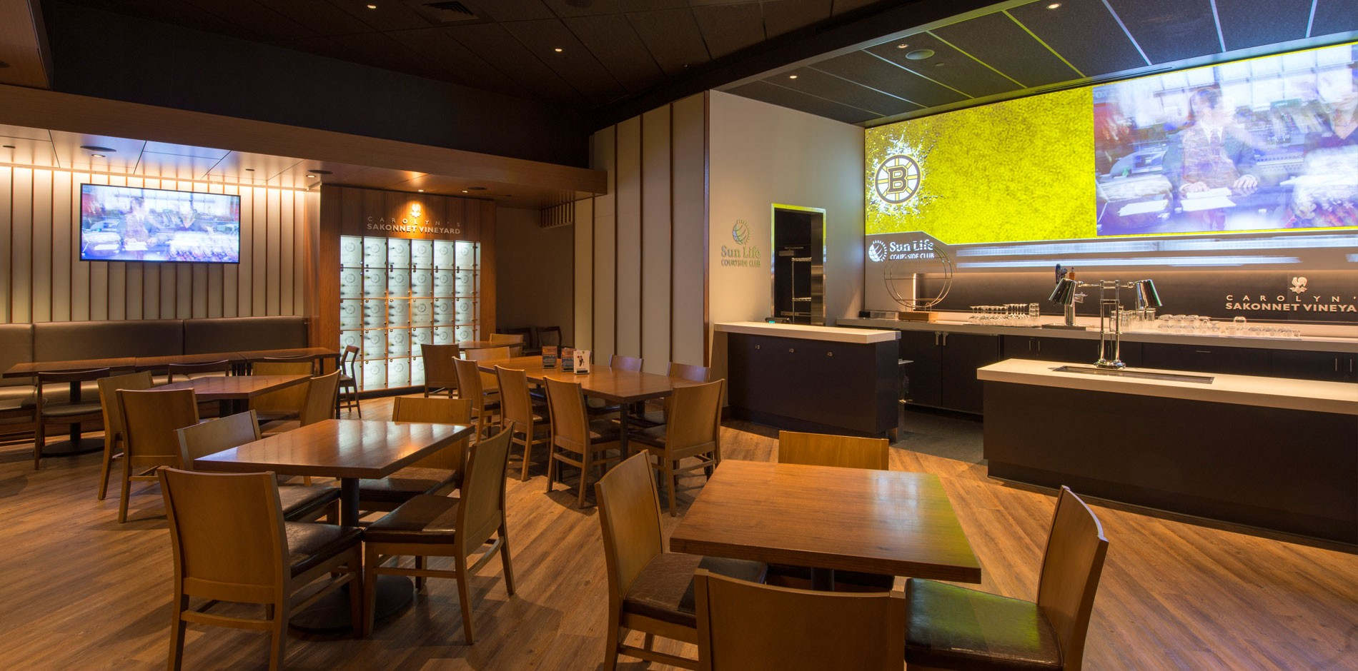 Boston Celtics Fan Experience Fit Out And Renovation Project