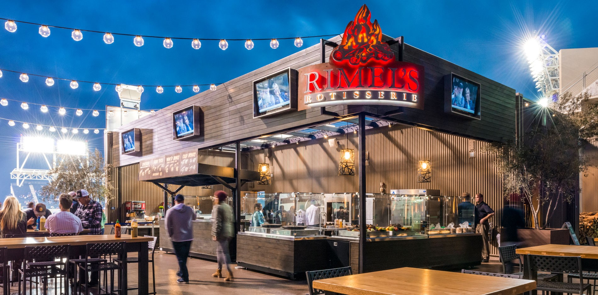 Petco Park Concessions Renovation Food And Beverage Construction