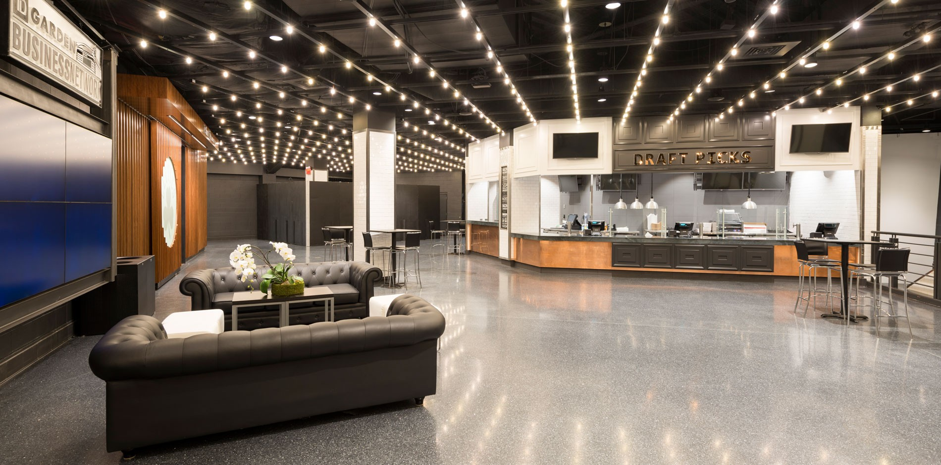 Td Garden Concourse And Concessions Renovation