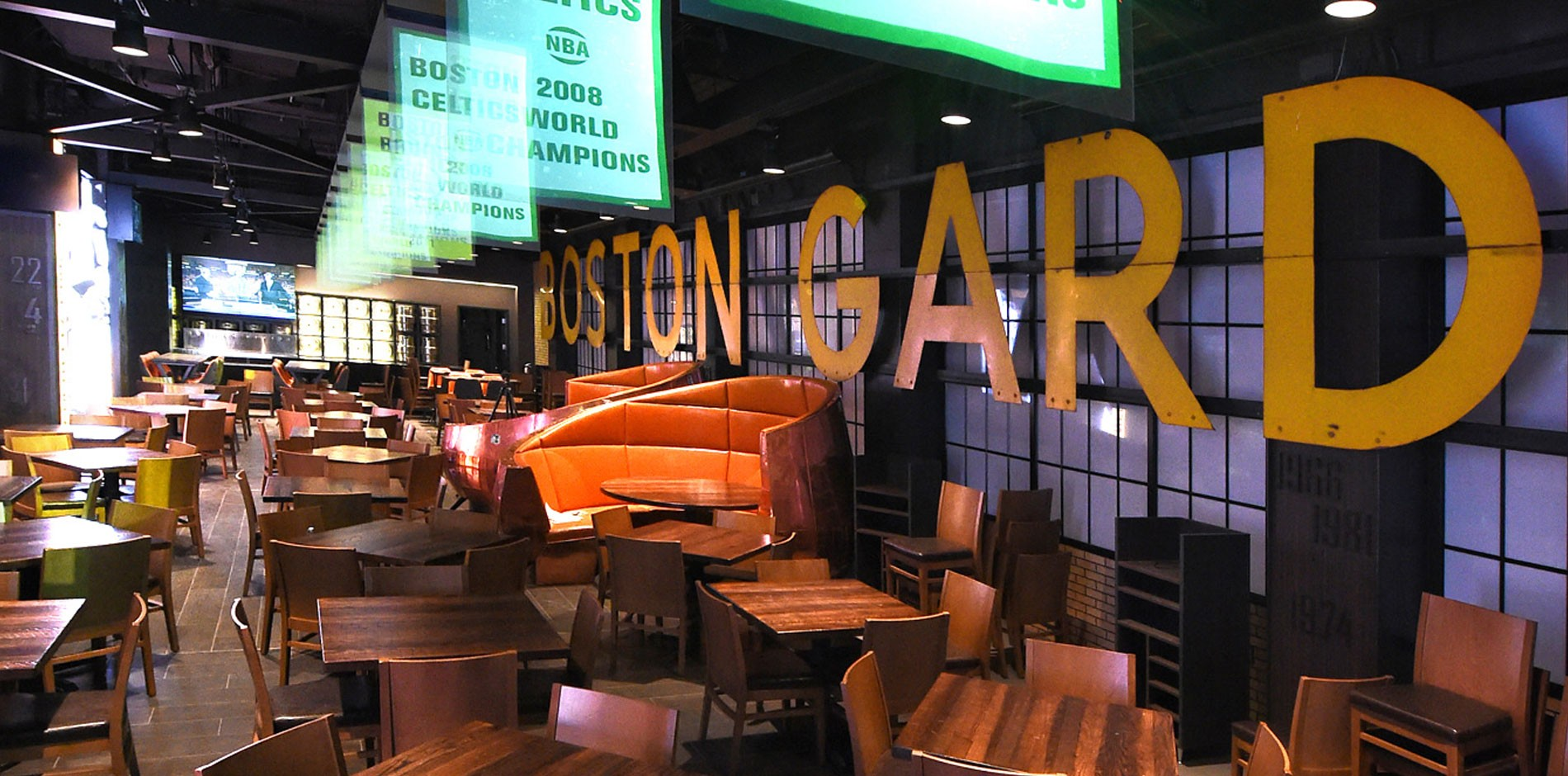 Legends At Td Garden Food Amp Beverage Renovation Amp Fit Out