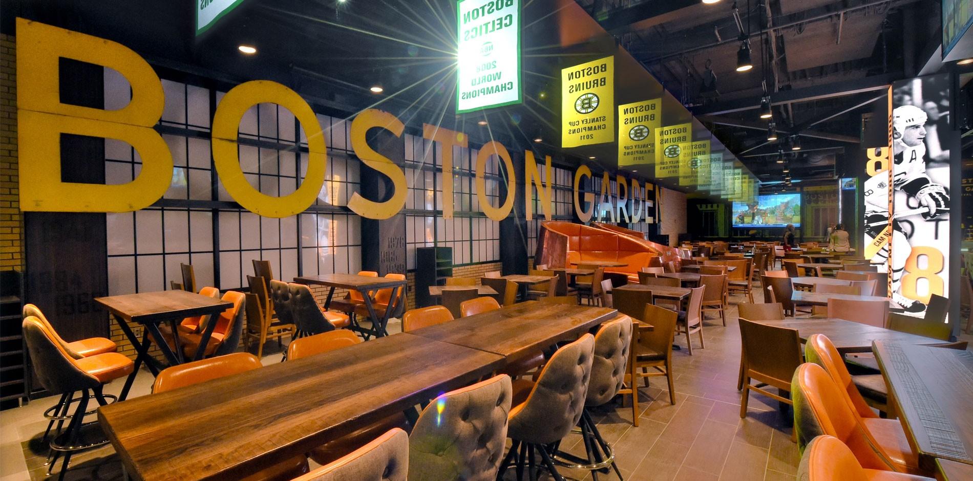 Legends at TD Garden Food & Beverage Renovation & Fit Out