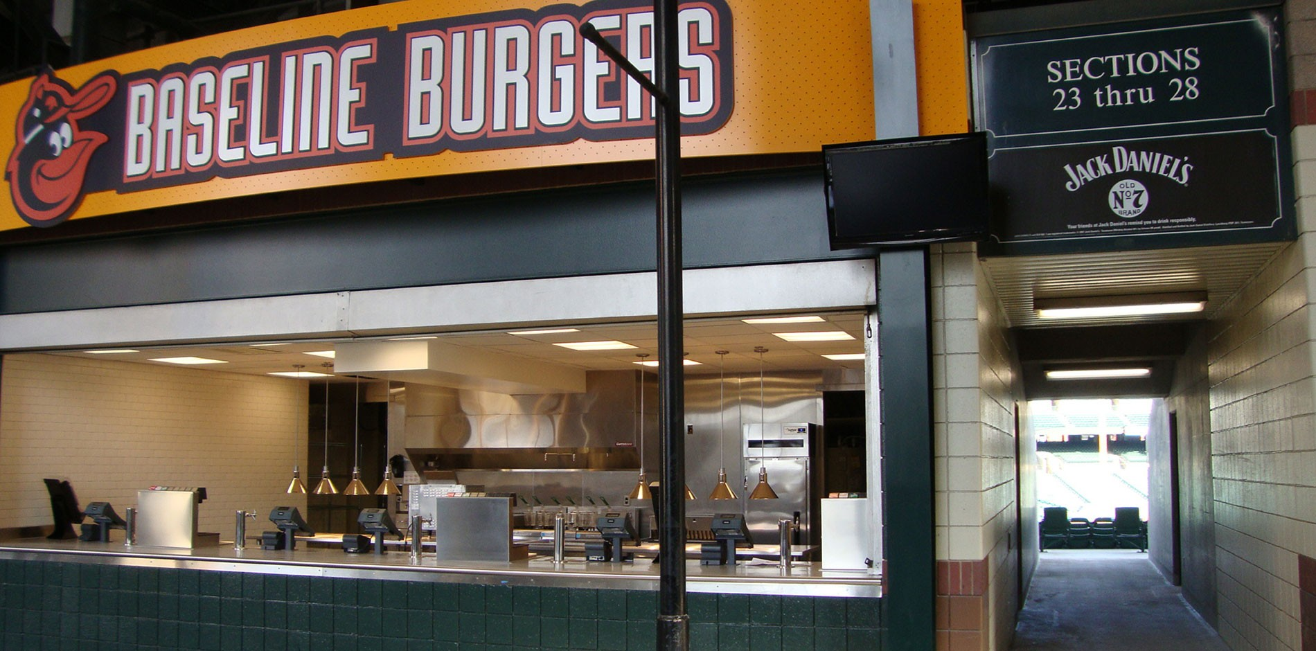 Food Beverage Renovation And Fit Out At Camden Yards