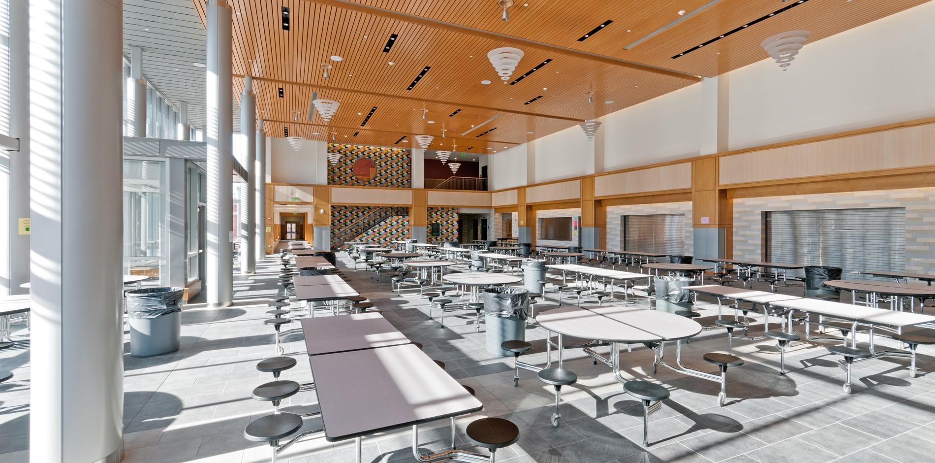 wayland  ma high school renovation  addition  u0026 ground up