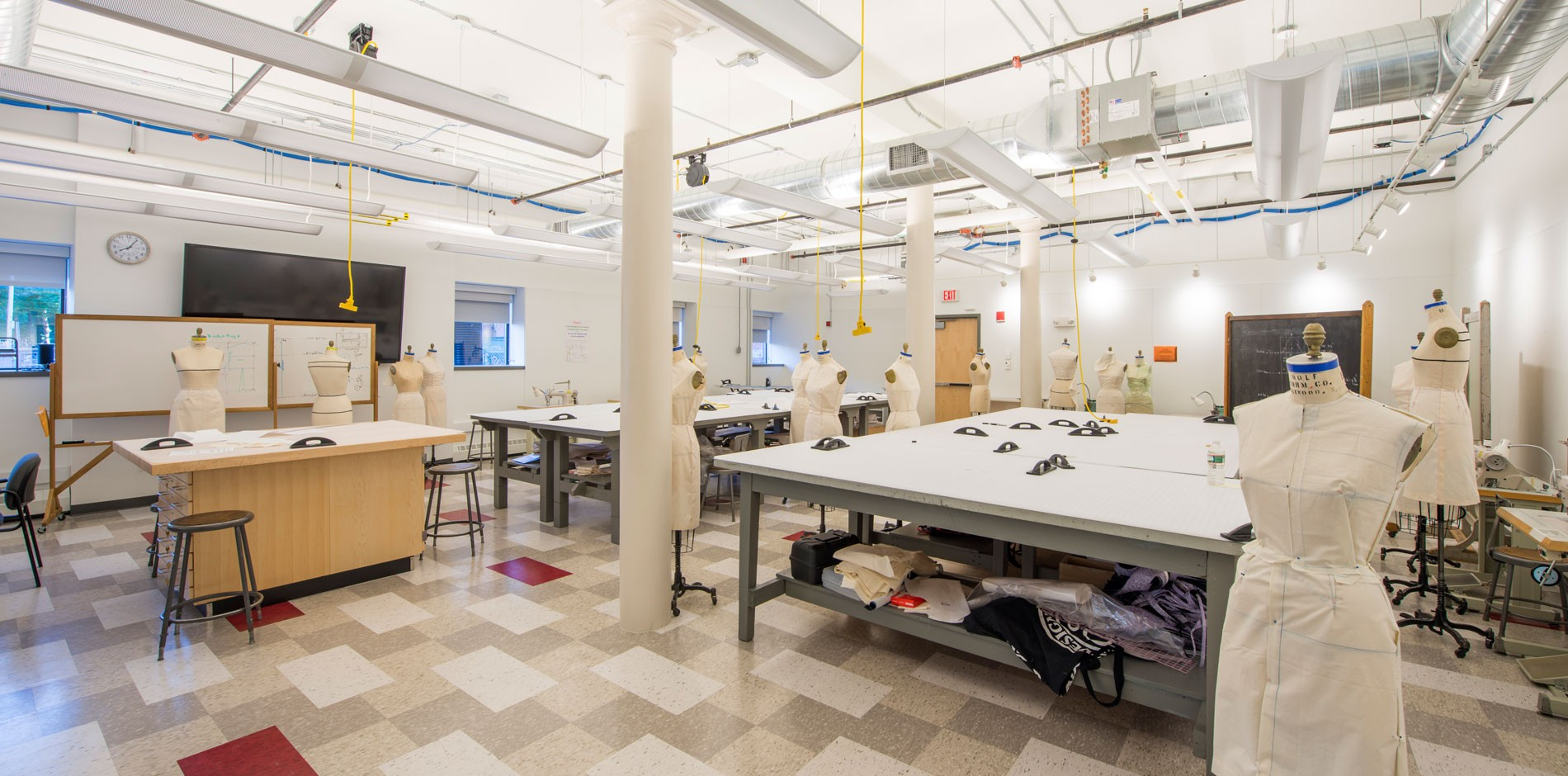 Rhode Island School Of Design Risd Apparel Design Department Renovation Shawmut