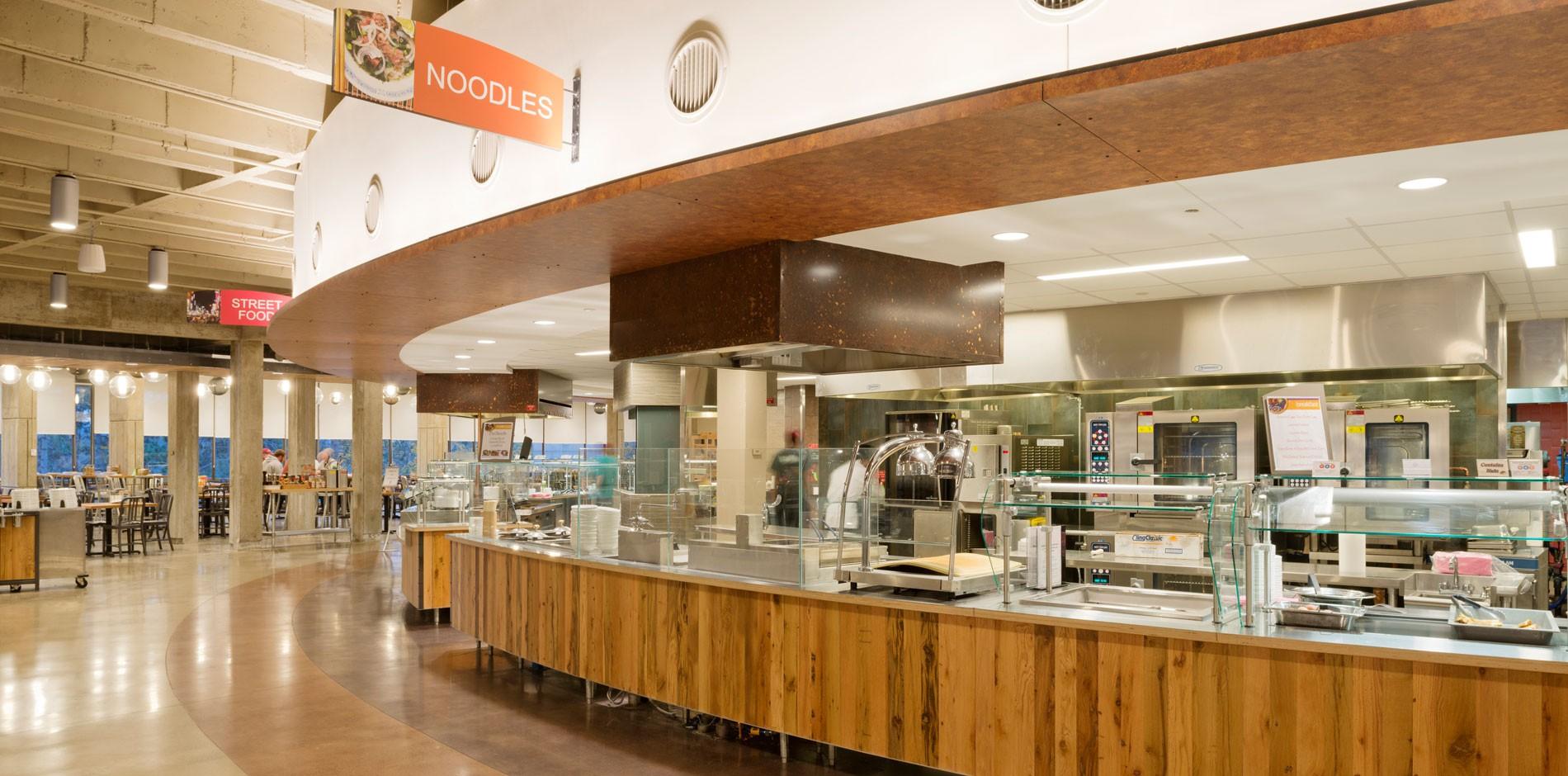 umass amherst hampshire dining commons renovation shawmut