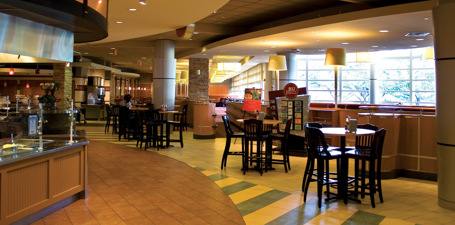 Boston University   Claflin And Sleeper Hall Dining Room Renovation |  Shawmut