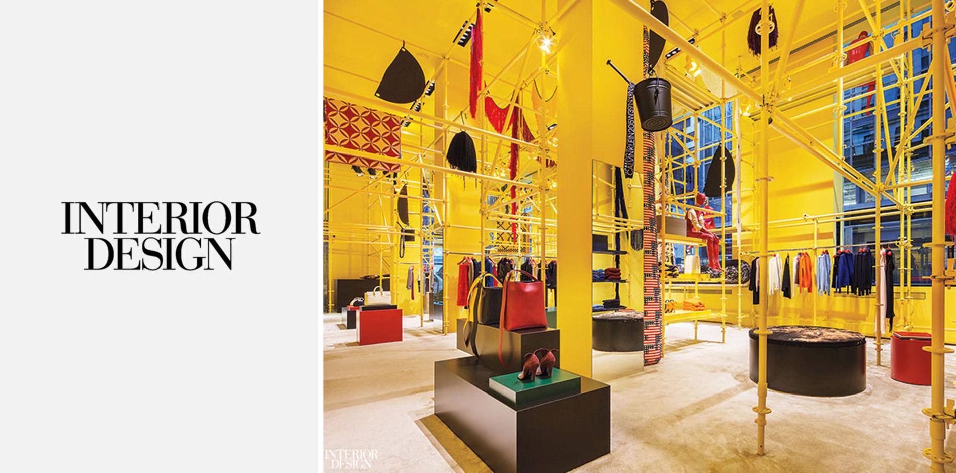 & Interior Design Showcases Calvin Kleinu0027s NYC Flagship Redesign