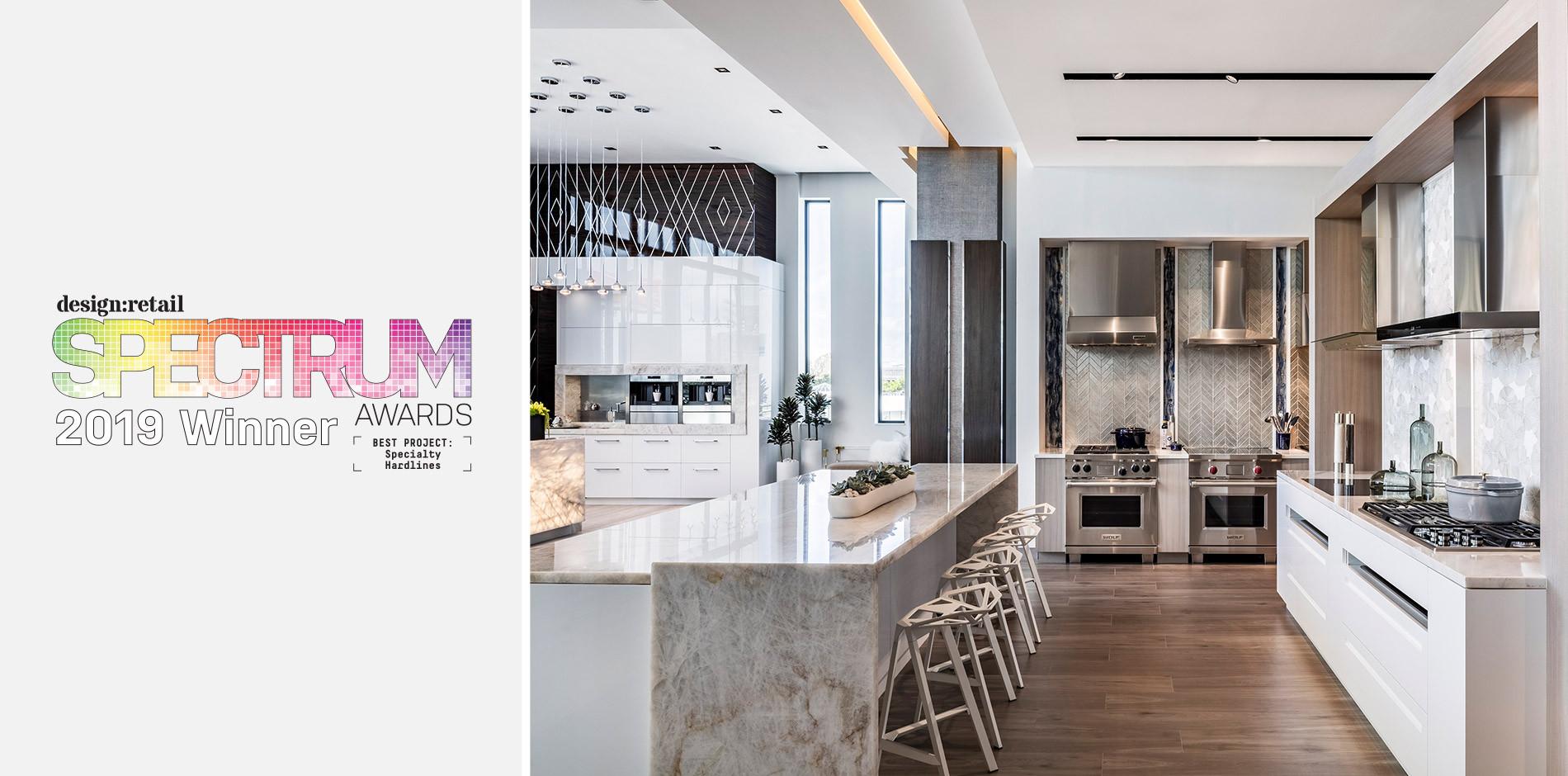 Sub Zero Wolf And Cove Miami Showroom Wins Design Retail Spectrum