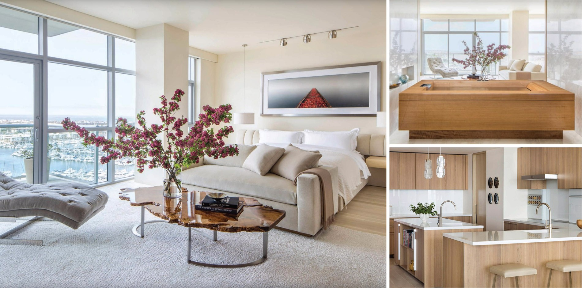 Marina Del Rey Penthouse Featured In California Homes Magazine