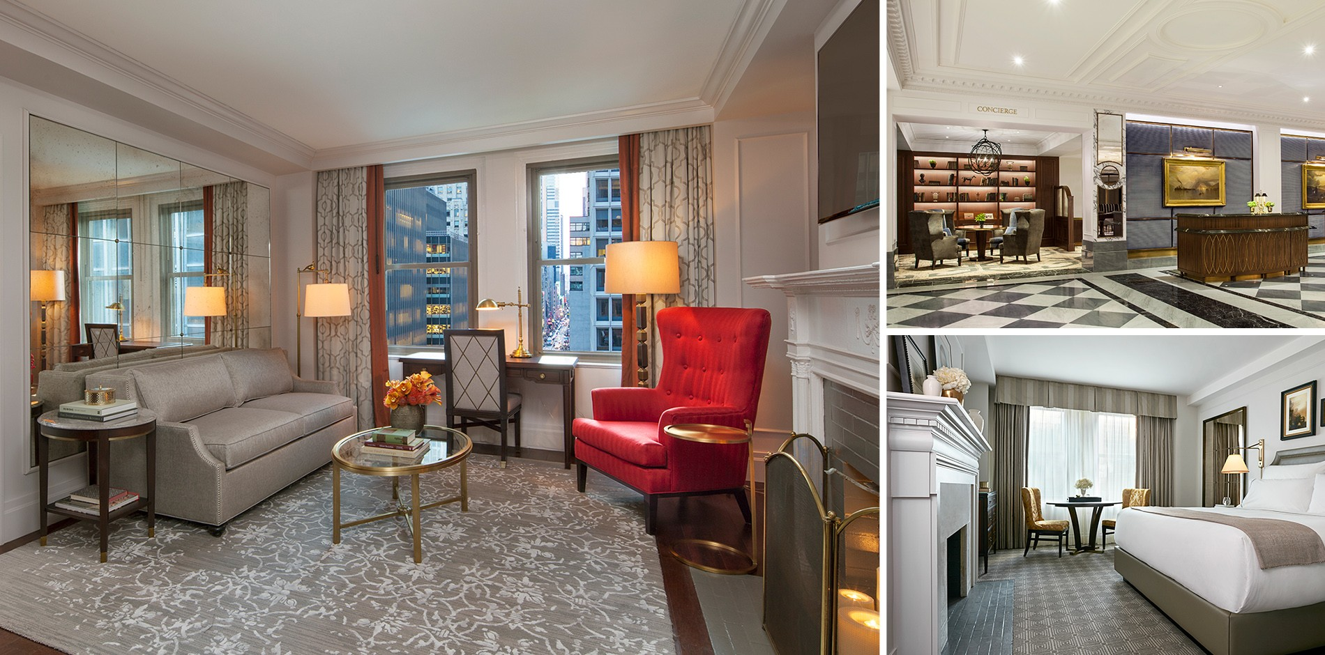 NEW YORK, NY   New York City Has More Than Its Share Of Iconic Hotels, But  None Are Quite As Revered And Cherished As The InterContinental New York  Barclay ...