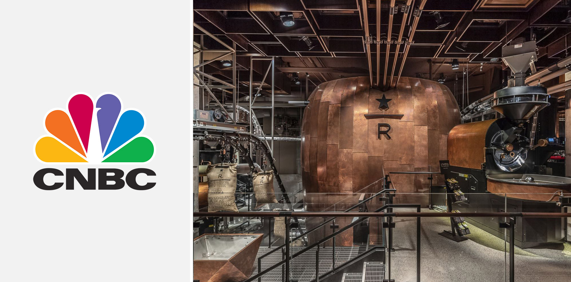 Cnbc Explores The Newly Opened Starbucks Reserve Roastery